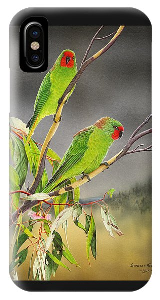 New Life - Little Lorikeets IPhone Case