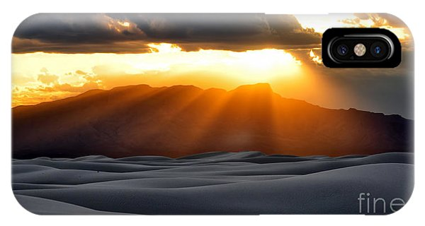 IPhone Case featuring the photograph New Mexico Desert by Brian Spencer