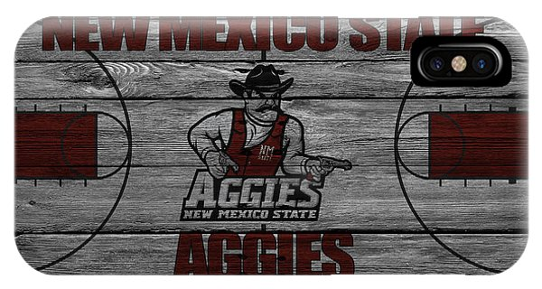 Aggie iPhone Case - New Mexico State Aggies by Joe Hamilton