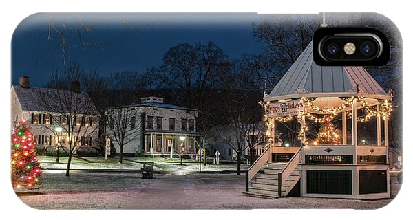 New Milford Green - Christmas Morning IPhone Case