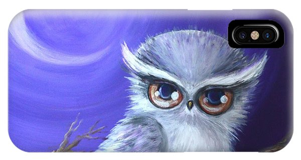 New Moon Owl IPhone Case