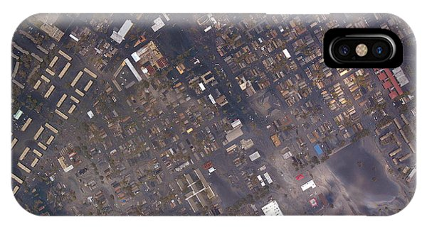 Katrina iPhone Case - New Orleans After Hurricane Katrina by Noaa/science Photo Library