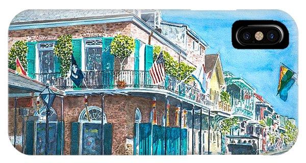 New Orleans Bourbon Street IPhone Case