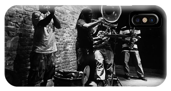 New Orleans Brass Band IPhone Case