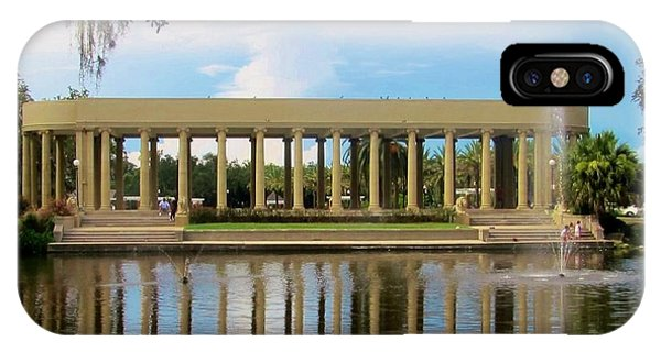 New Orleans City Park - Peristyle IPhone Case