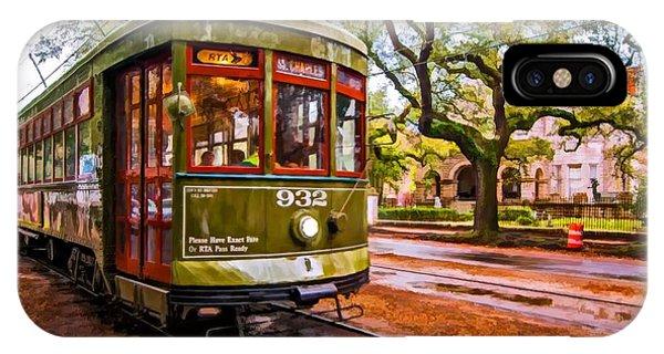 Steve Harrington iPhone Case - New Orleans Classique Oil by Steve Harrington