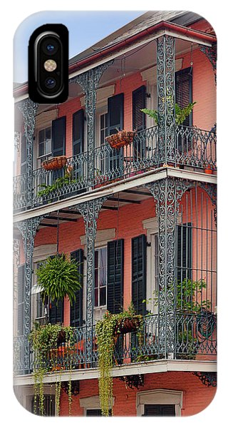 New Orleans Colorful Homes IPhone Case