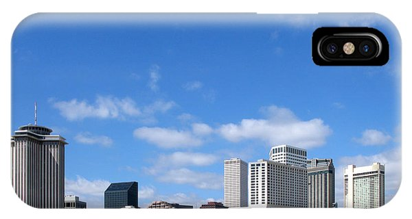 Mississippi River iPhone Case - New Orleans Louisiana by Olivier Le Queinec