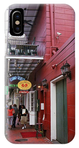 Oyster Bar iPhone Case - New Orleans Restaurant 2 by Frank Romeo
