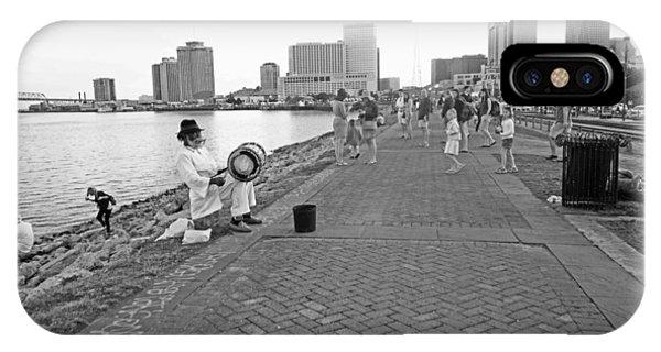 New Orleans Riverwalk IPhone Case