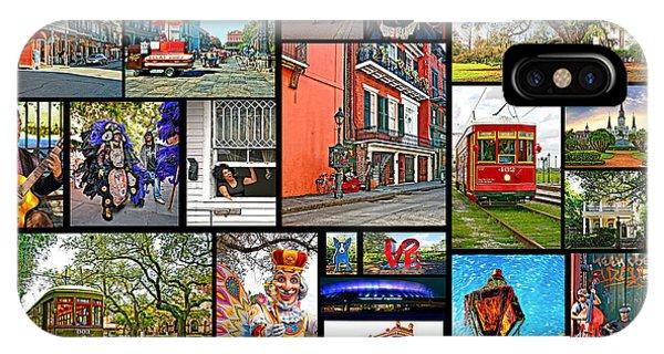 Steve Harrington iPhone Case - New Orleans by Steve Harrington