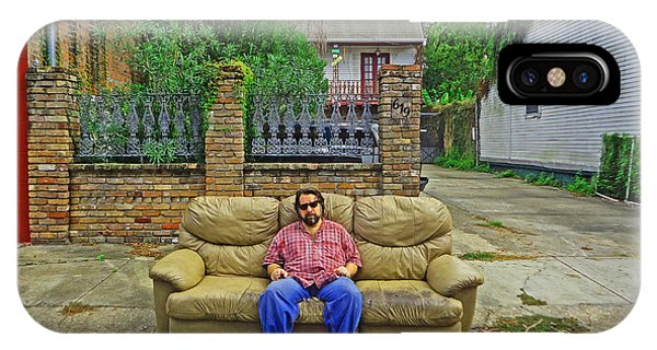 New Orleans Street Couch IPhone Case