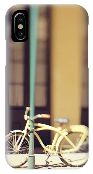New Orleans Yellow Bicycle IPhone Case