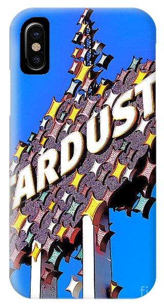 Original Stardust Casino Neon In Las Vegas Pop Art IPhone Case