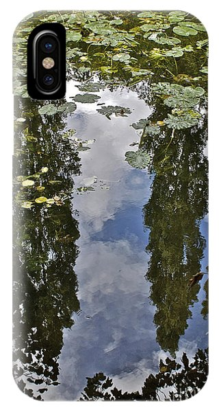 Reflections Amongst The Lily Pads IPhone Case