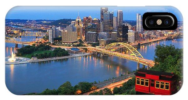 Energy iPhone Case -  Pittsburgh Summer  by Emmanuel Panagiotakis