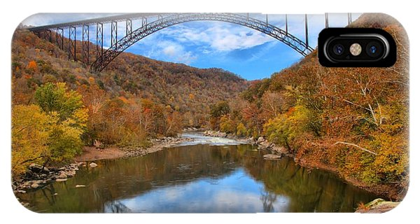 New River Gorge Reflections IPhone Case