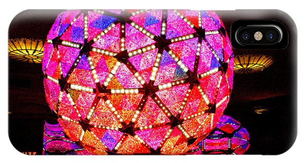 Midnite iPhone Case - New Year's Ball by Pablo Rosales