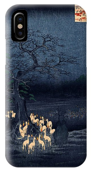 New Years Eve Foxfires At The Changing Tree IPhone Case