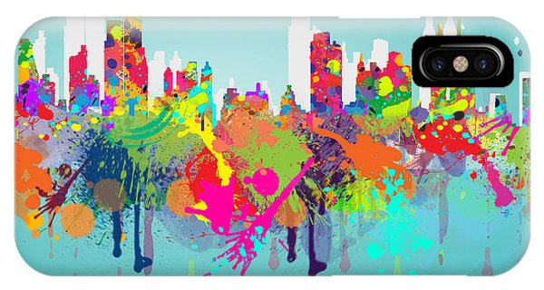 Manhattan Skyline iPhone Case - New York 7 by Mark Ashkenazi
