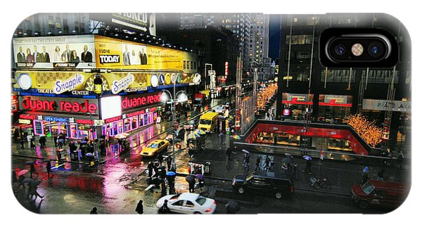 New York After The Rain IPhone Case