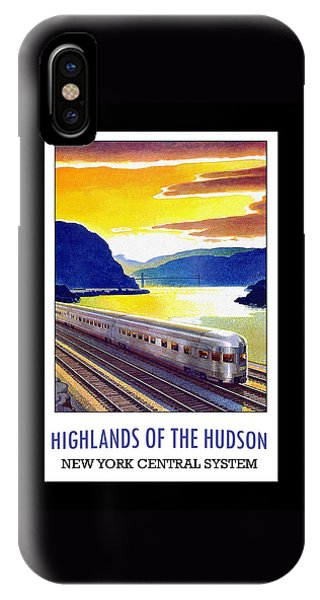 New York Central Vintage Poster IPhone Case