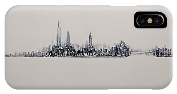 New York City 2013 Skyline 20x60 IPhone Case