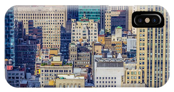 New York City Buildings Abstract IPhone Case