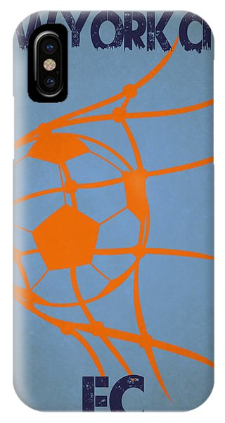 Soccer iPhone Case - New York City Fc Goal by Joe Hamilton