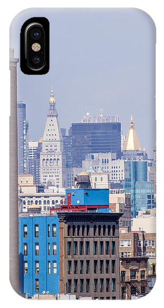 New York City From Brooklyn Bridge IPhone Case
