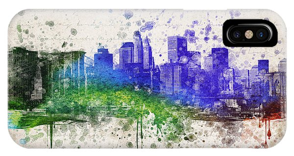 New York City In Color IPhone Case