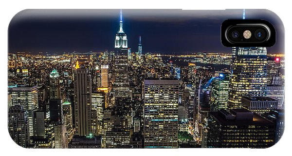 Times Square iPhone Case - New York City by Larry Marshall