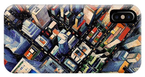 New York City Sky View IPhone Case