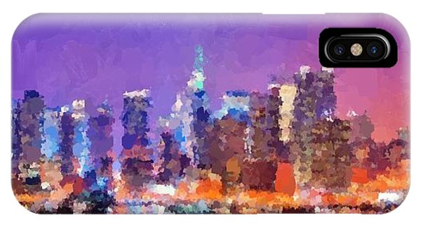 New York City - Skyline 0 IPhone Case