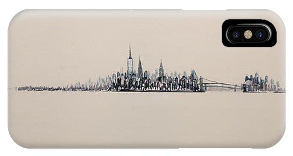 New York City Skyline 15x45 2013 IPhone Case