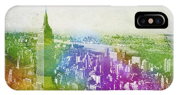 Empire State Building iPhone Case - New York City Skyline by Aged Pixel
