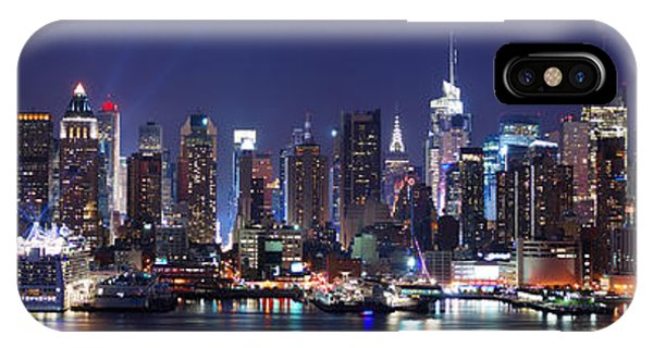 New York City Skyline Panorama IPhone Case