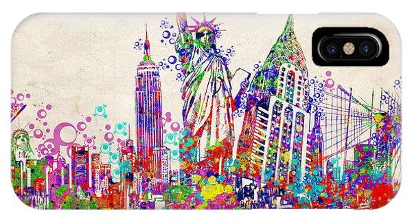 New York City Tribute 2 IPhone Case