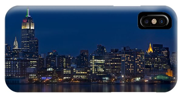 New York City Twilight IPhone Case