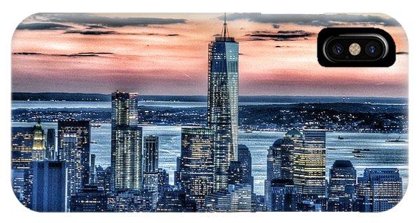 The Nature Center iPhone Case - New York - Manhattan Landscape by Marianna Mills