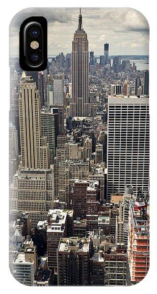 New York Midtown Skyscrapers IPhone Case