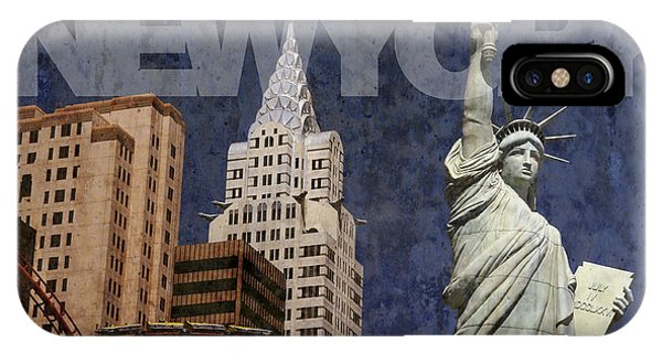 New York New York Las Vegas IPhone Case