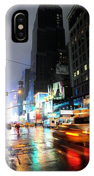 New York Night Phone Case by Stephen Richards