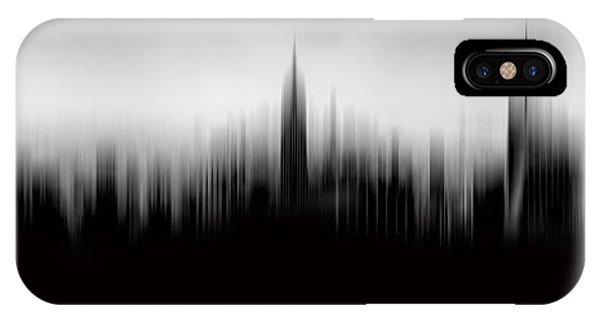 Building iPhone Case - New York Skyline Abstract by Az Jackson