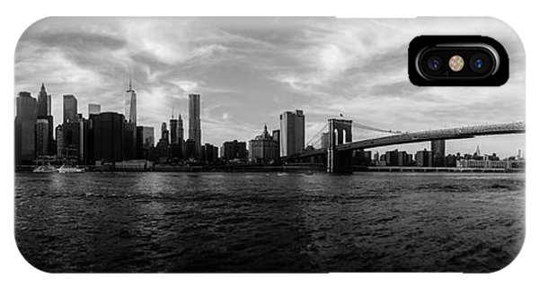 Statue Of Liberty iPhone Case - New York Skyline by Nicklas Gustafsson