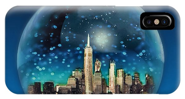 New York Snow Globe IPhone Case