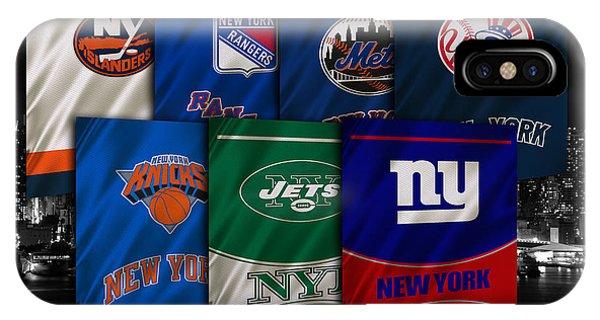 Islanders iPhone Case - New York Sports Teams by Joe Hamilton