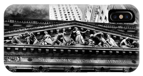 New York Stock Exchange IPhone Case