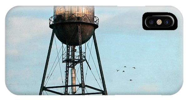 New York Water Tower 7 IPhone Case