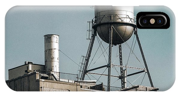 New York Water Towers 10 IPhone Case
